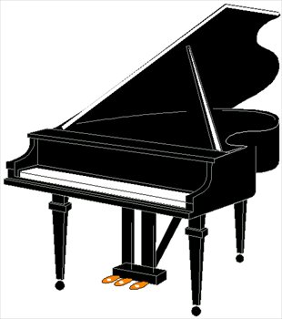 Piano clipart #8, Download drawings