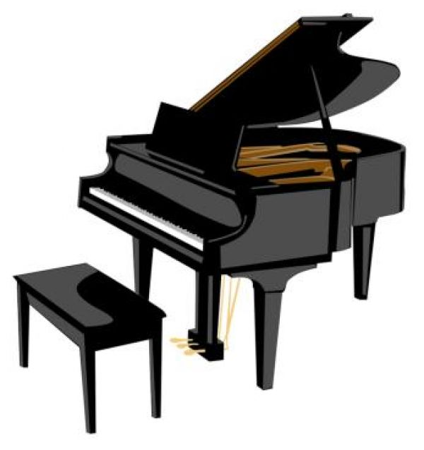 Piano clipart #3, Download drawings