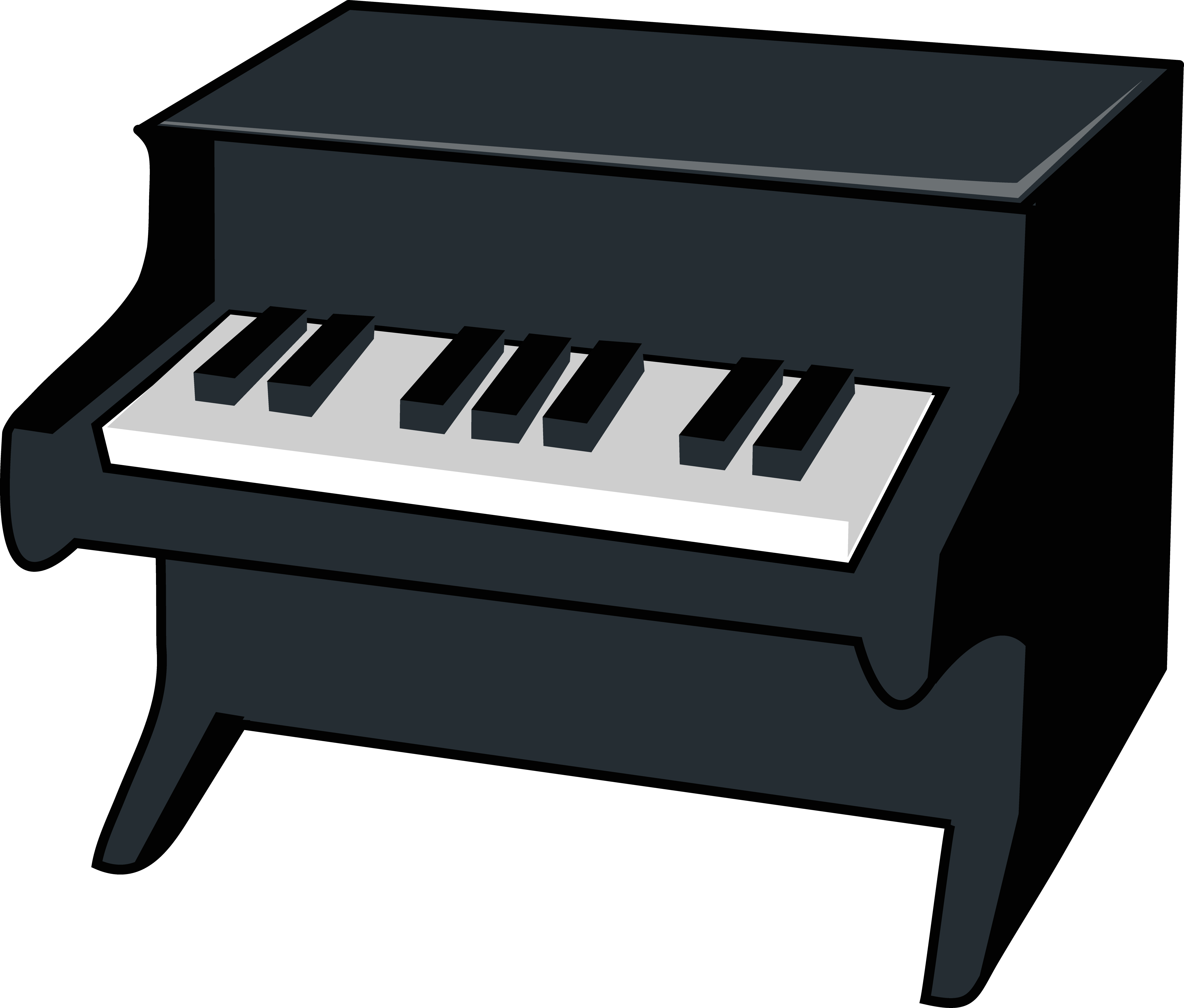 Piano clipart #1, Download drawings