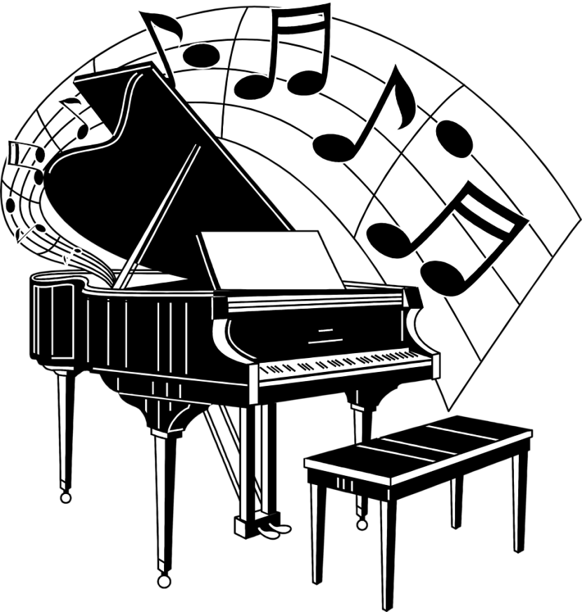 Piano clipart #11, Download drawings