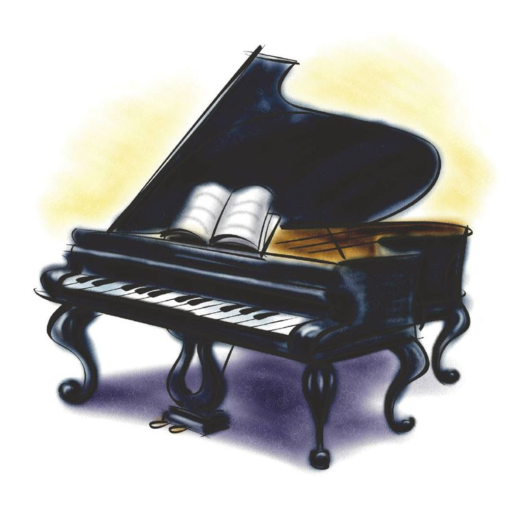 Piano clipart #6, Download drawings