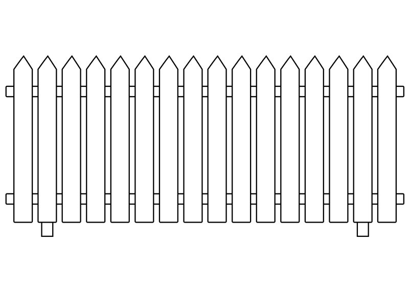 Picket Fence clipart #13, Download drawings