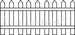 Picket Fence clipart #9, Download drawings