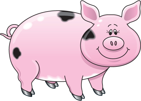 Pig clipart #14, Download drawings