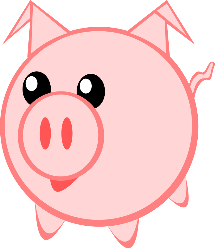 Pig clipart #4, Download drawings