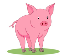 Pig clipart #18, Download drawings