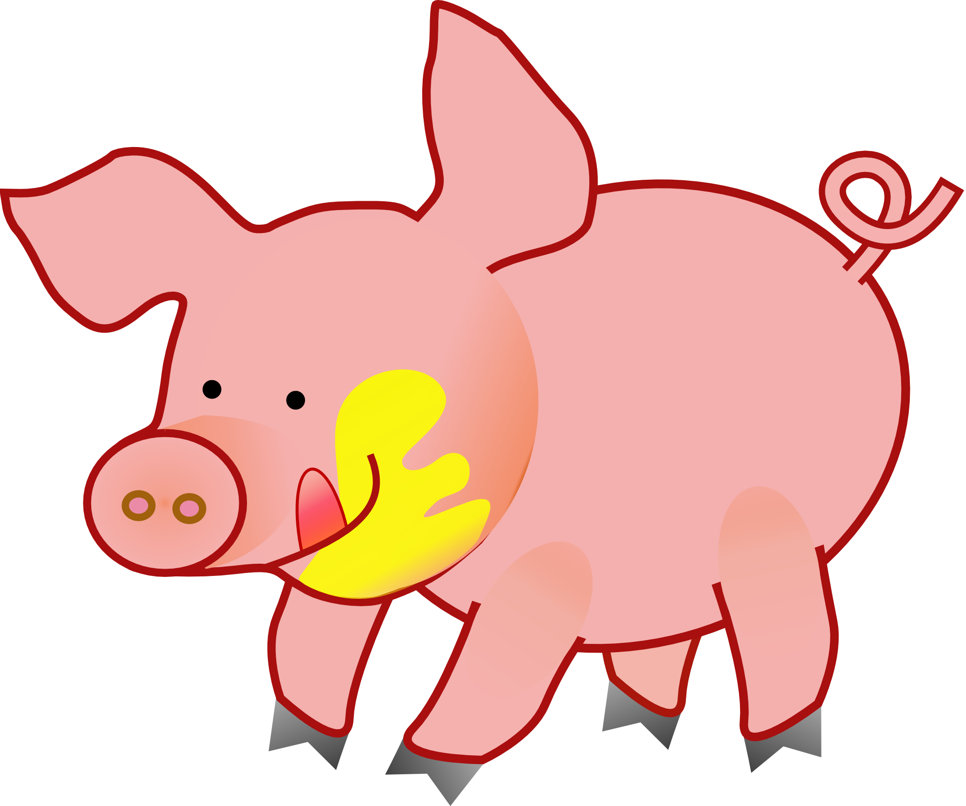 Pig clipart #6, Download drawings