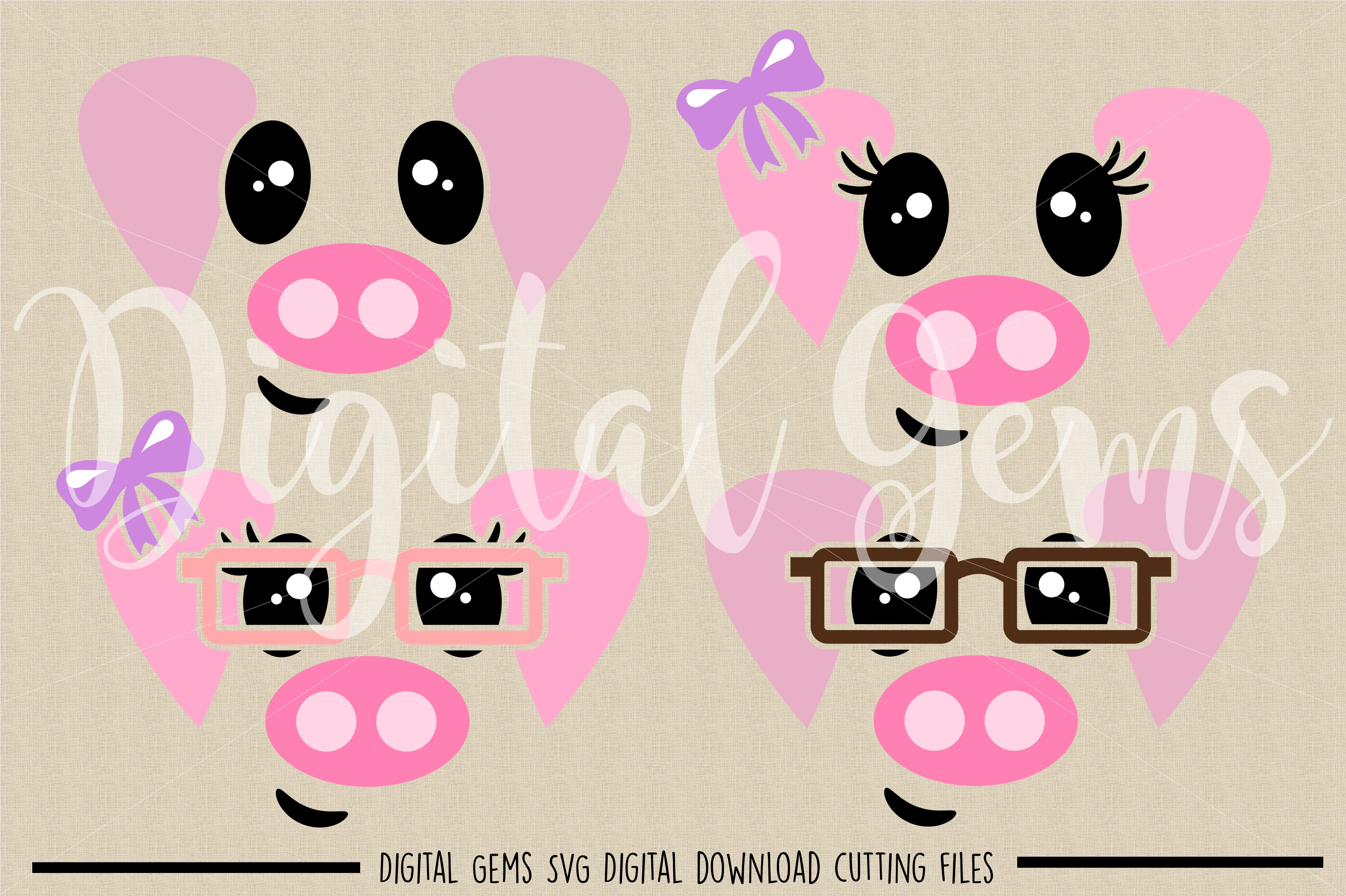 pig face svg #413, Download drawings