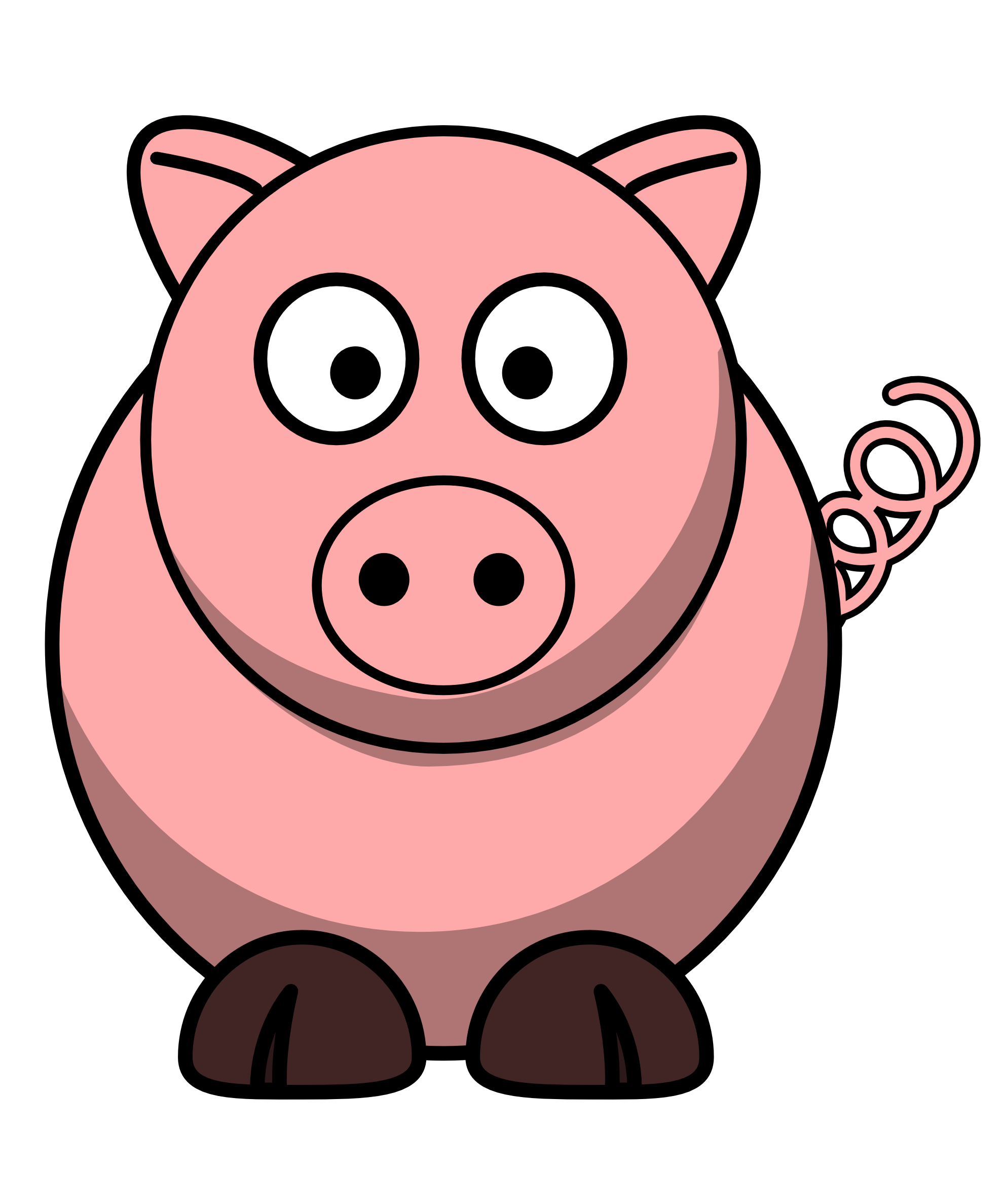 Pig svg #344, Download drawings