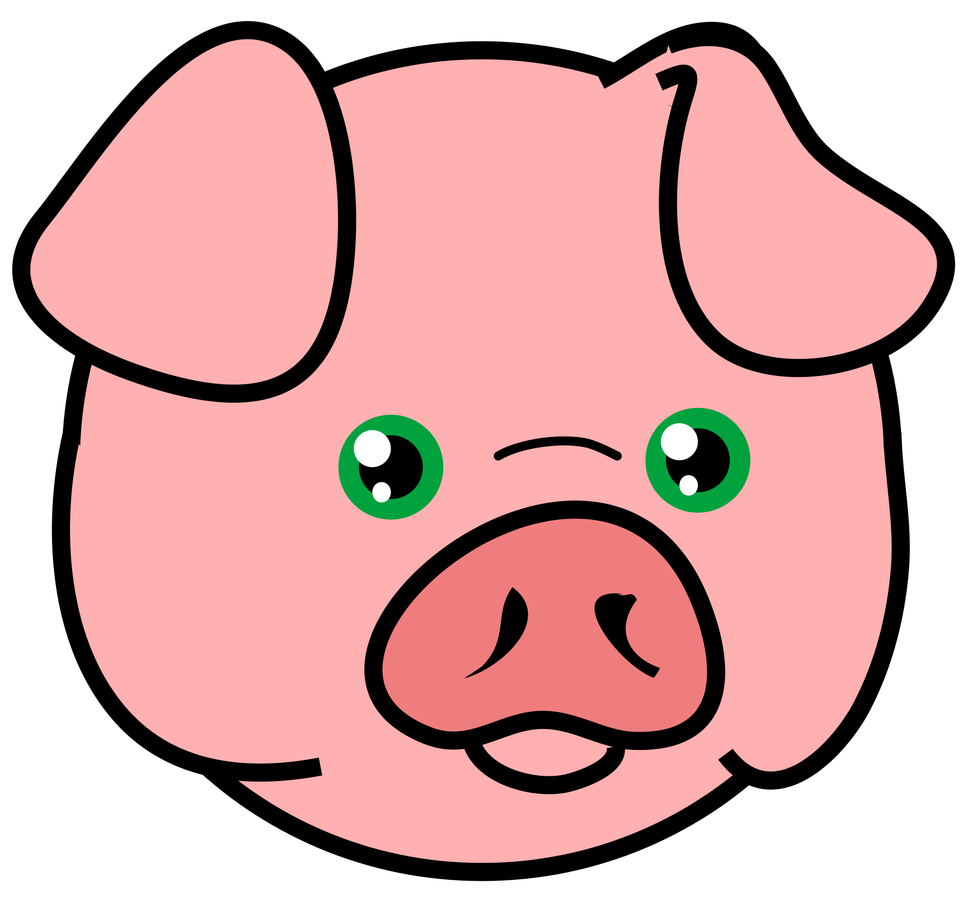 Pig svg #612, Download drawings