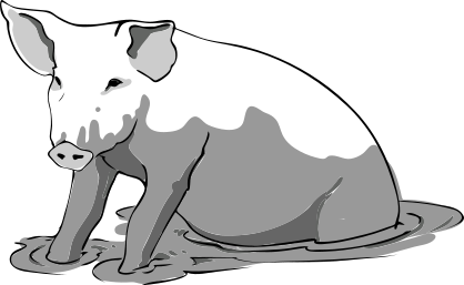 Pig svg #10, Download drawings