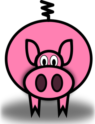 Pig svg #6, Download drawings