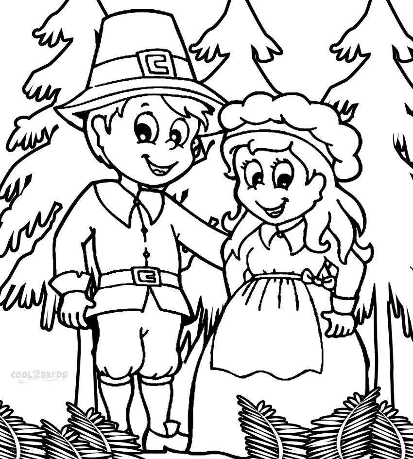 Pilgrim coloring #15, Download drawings
