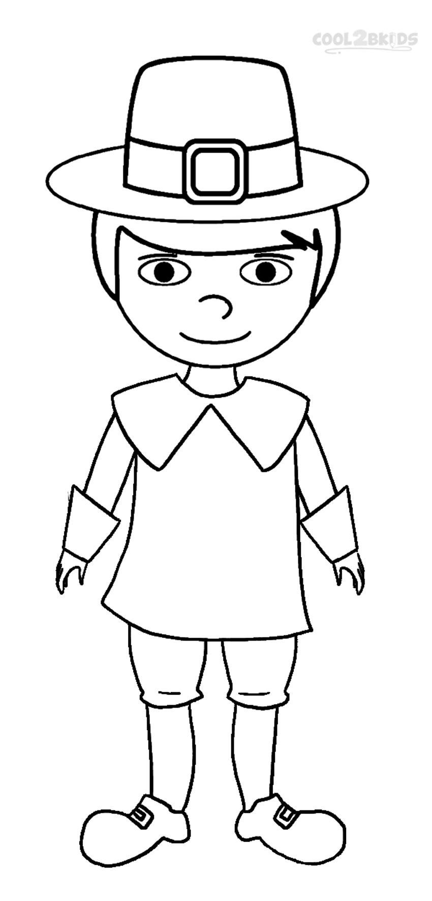 Pilgrim coloring #8, Download drawings