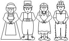 Pilgrim coloring #4, Download drawings