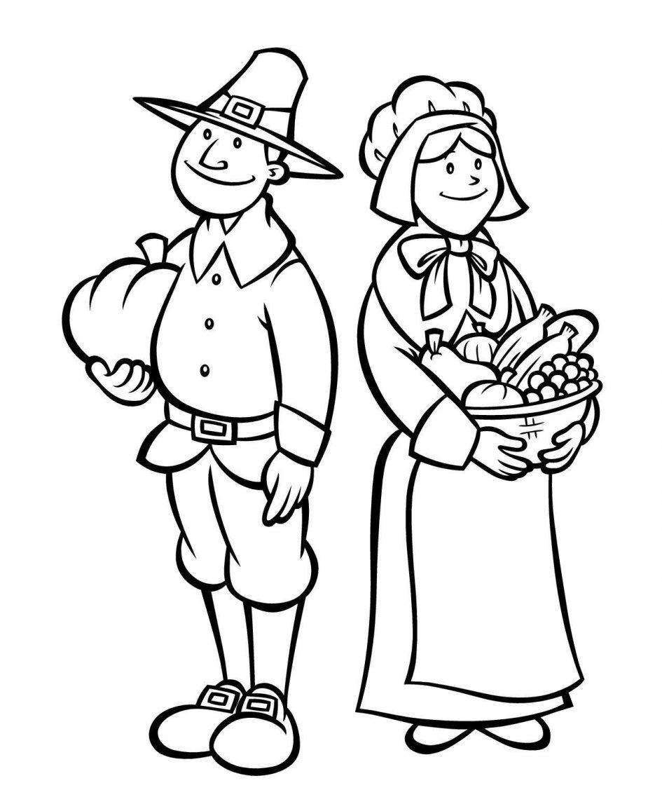 Pilgrim coloring #18, Download drawings