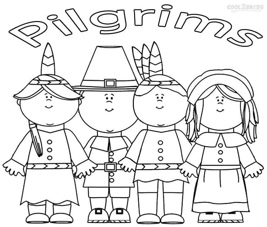 Pilgrim coloring #3, Download drawings