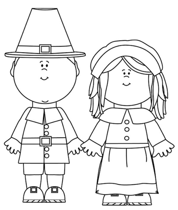 Pilgrim coloring #17, Download drawings