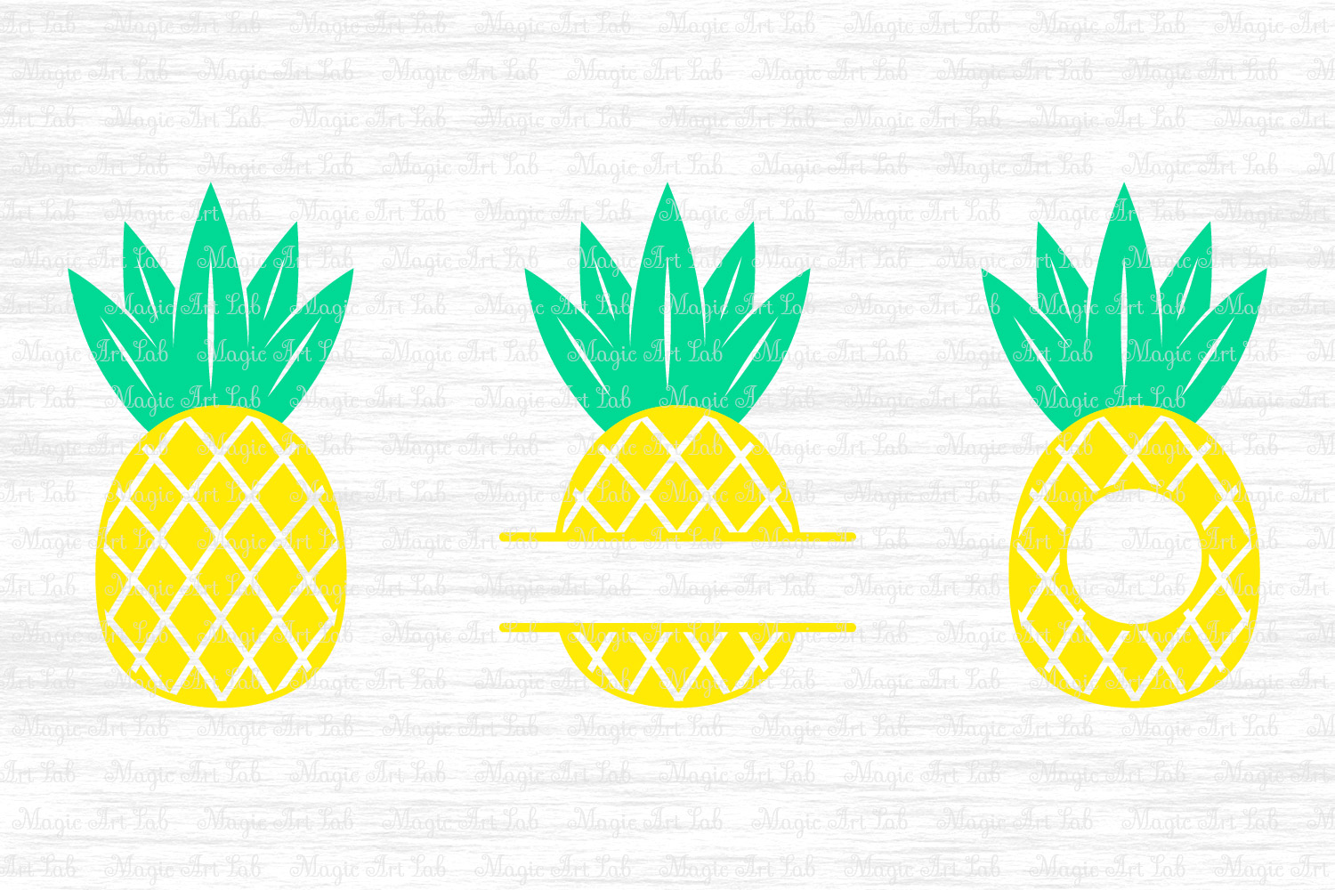 pineapple monogram svg free #276, Download drawings