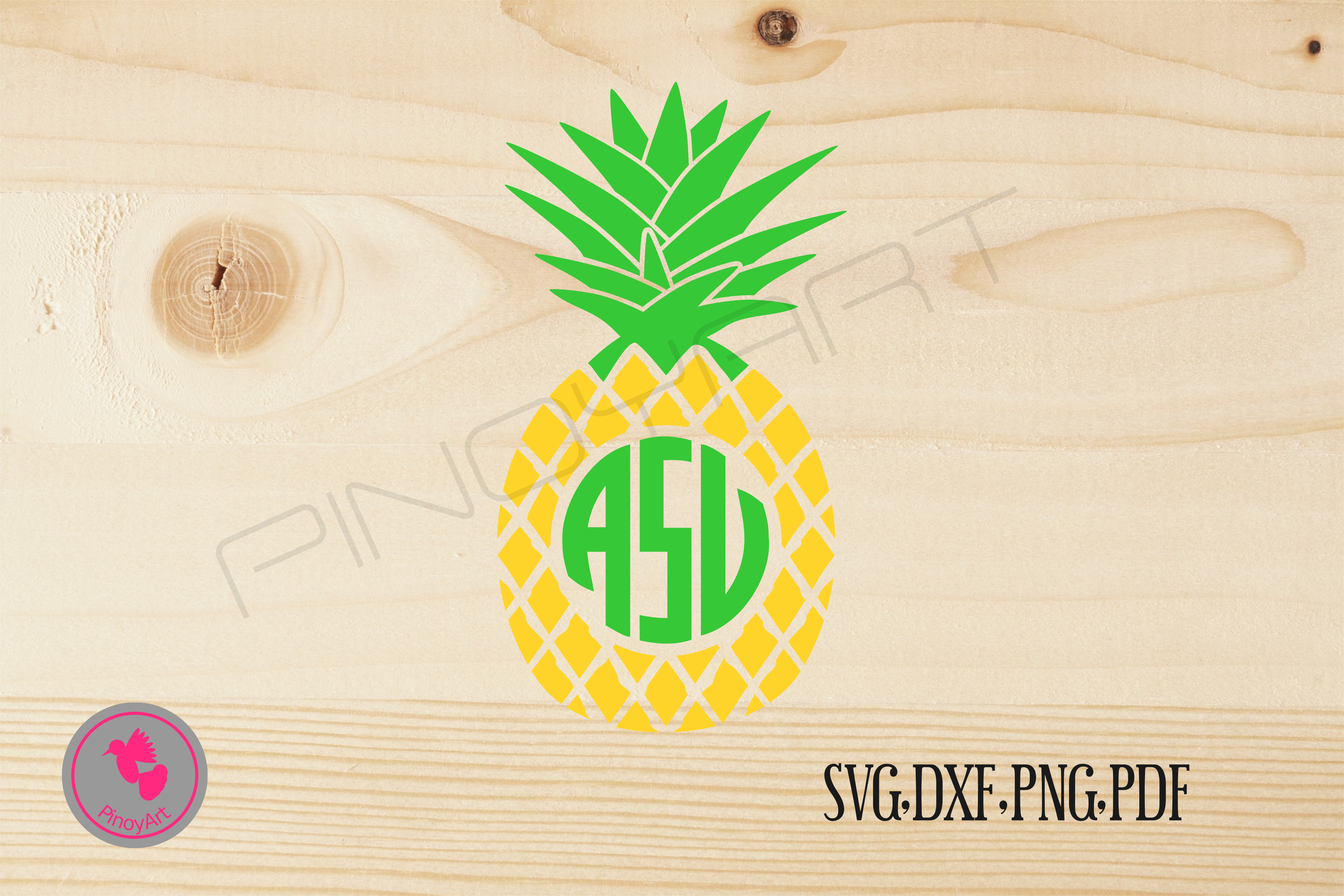 pineapple monogram svg free #262, Download drawings