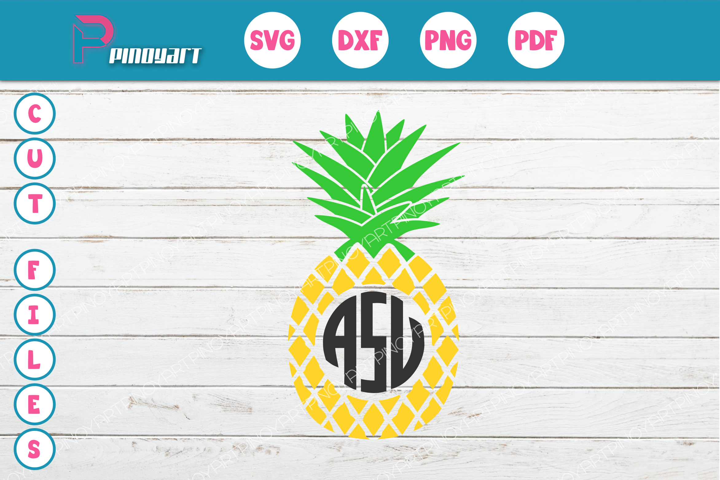 pineapple monogram svg free #264, Download drawings