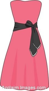 Pink Dress clipart #12, Download drawings