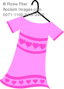 Pink Dress clipart #5, Download drawings
