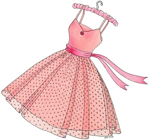 Pink Dress clipart #7, Download drawings