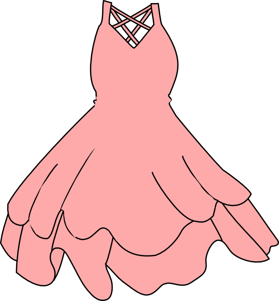 Pink Dress clipart #14, Download drawings