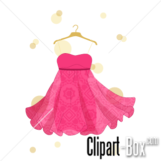 Pink Dress clipart #2, Download drawings