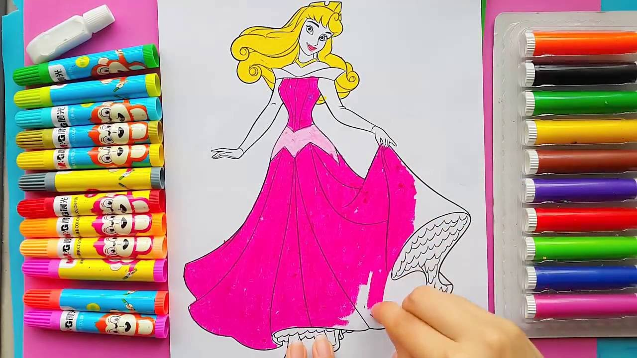 Pink Dress coloring #11, Download drawings