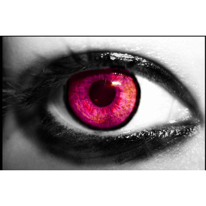 Pink Eyes coloring #9, Download drawings
