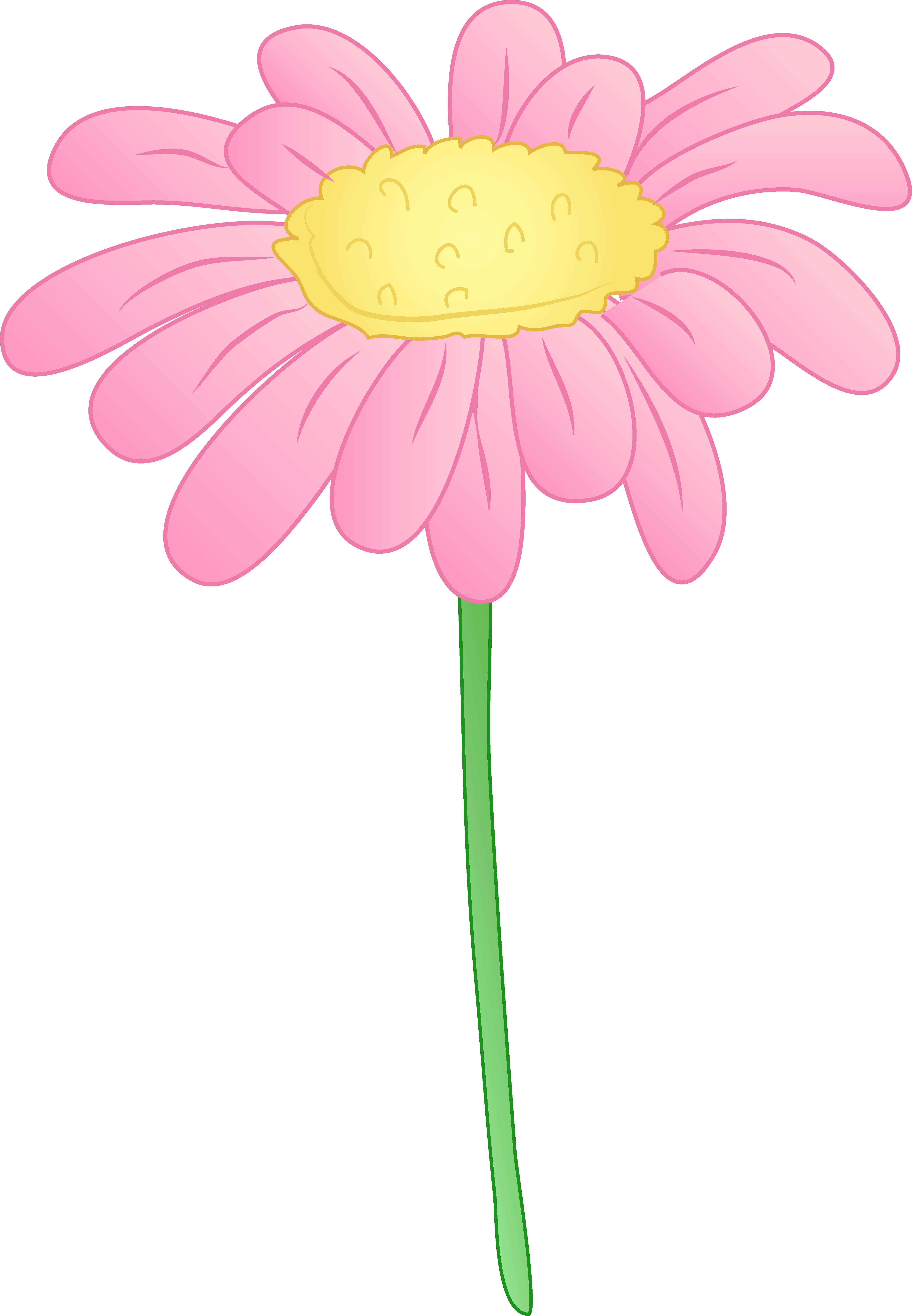 Daisy clipart #3, Download drawings