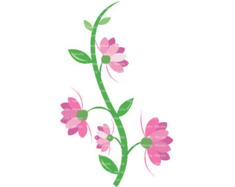 Pink Flower clipart #11, Download drawings