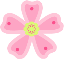 Pink Flower clipart #15, Download drawings