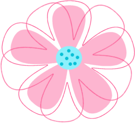 Pink Flower clipart #18, Download drawings