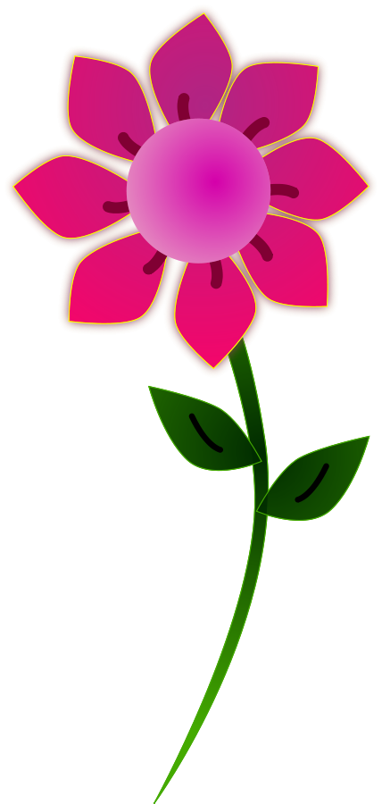 Pink Flower clipart #13, Download drawings