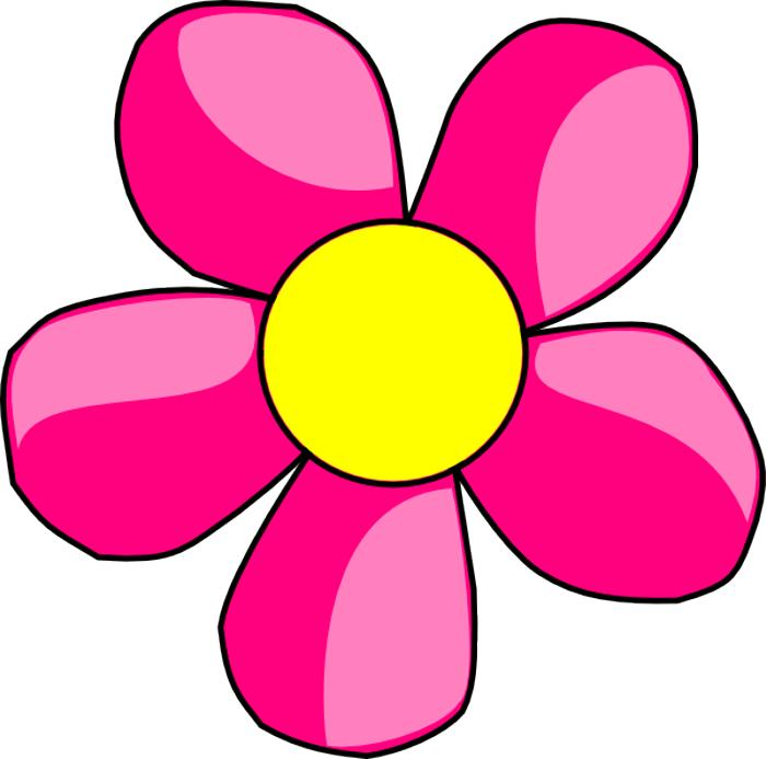 Pink Flower clipart #17, Download drawings