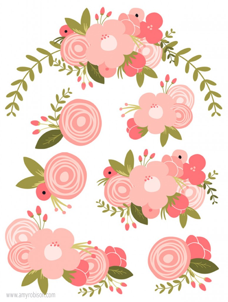 Pink Flower svg #10, Download drawings