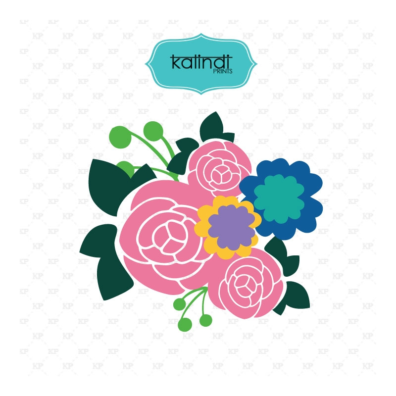 Pink Flower svg #3, Download drawings