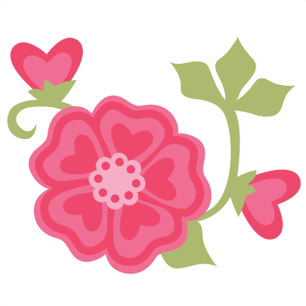 Pink Flower svg #16, Download drawings