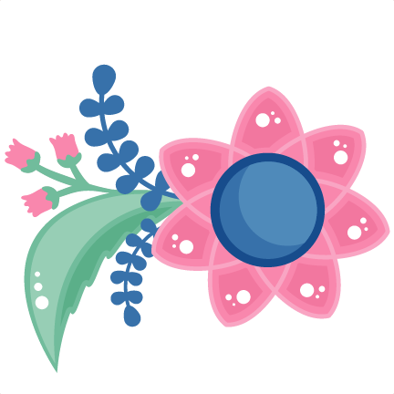 Pink Flower svg #2, Download drawings