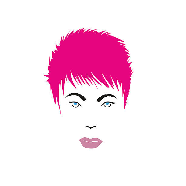 Pink Hair clipart #9, Download drawings