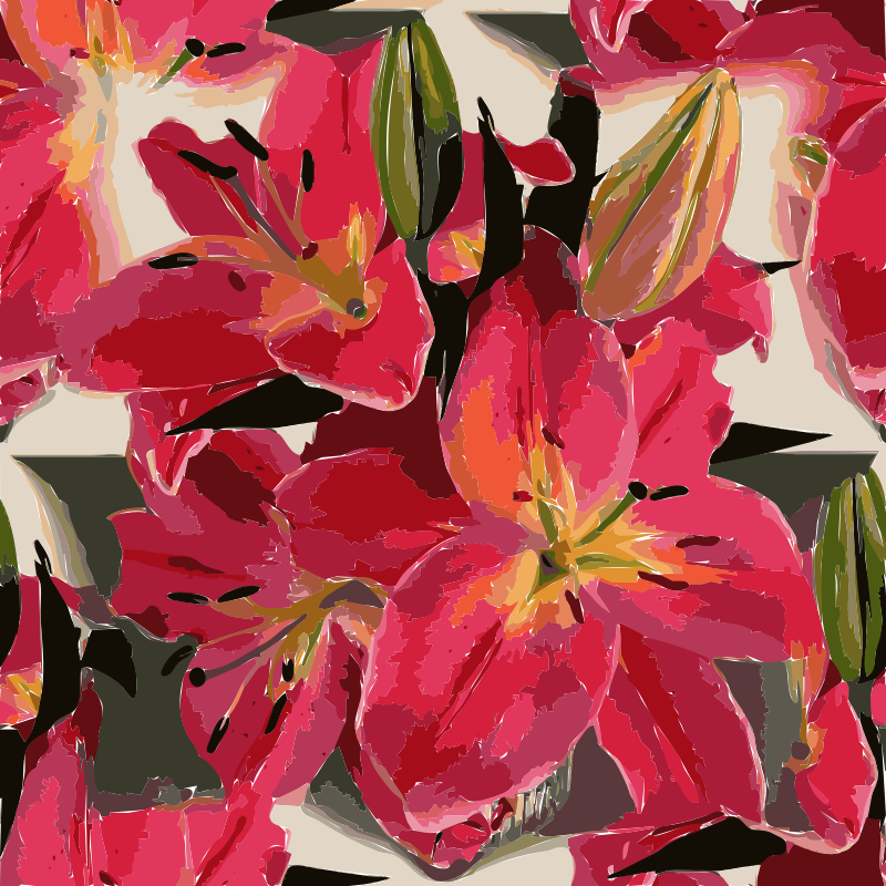 Pink Lily svg #6, Download drawings