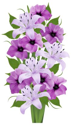 Pink Lily svg #2, Download drawings