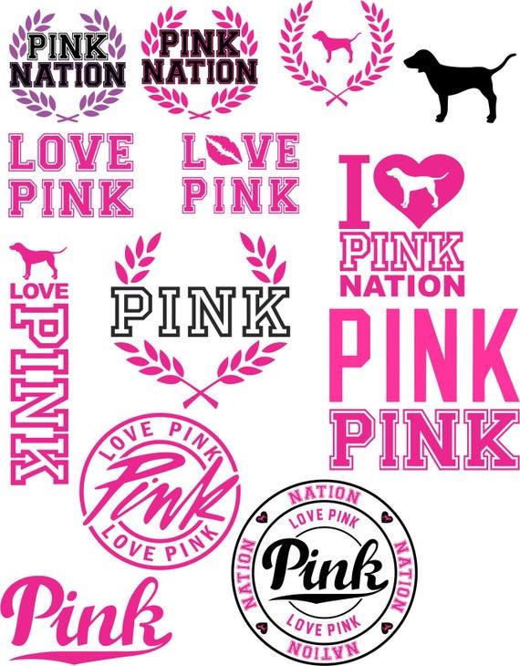 pink logo svg #874, Download drawings