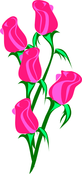 Pink Rose clipart #5, Download drawings