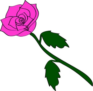 Pink Rose clipart #19, Download drawings
