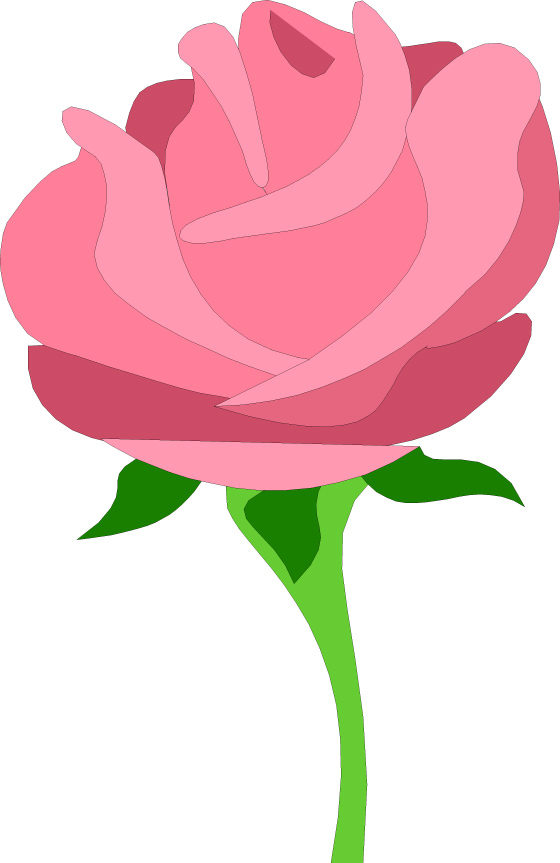 Pink Rose clipart #10, Download drawings