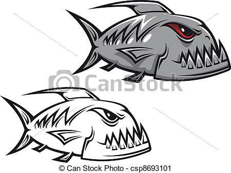 Piranha clipart #19, Download drawings